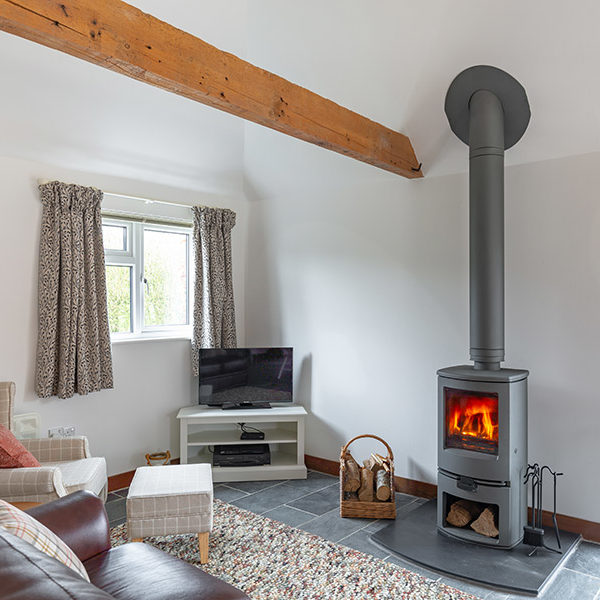 Cold Blow Holiday Cottage offers fresh interiors with an open plan living, dining and kitchen space with two separate bedrooms and a bathroom.